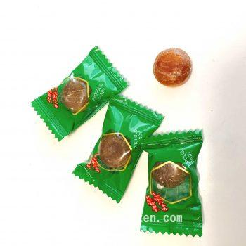 個袋とキャンディー