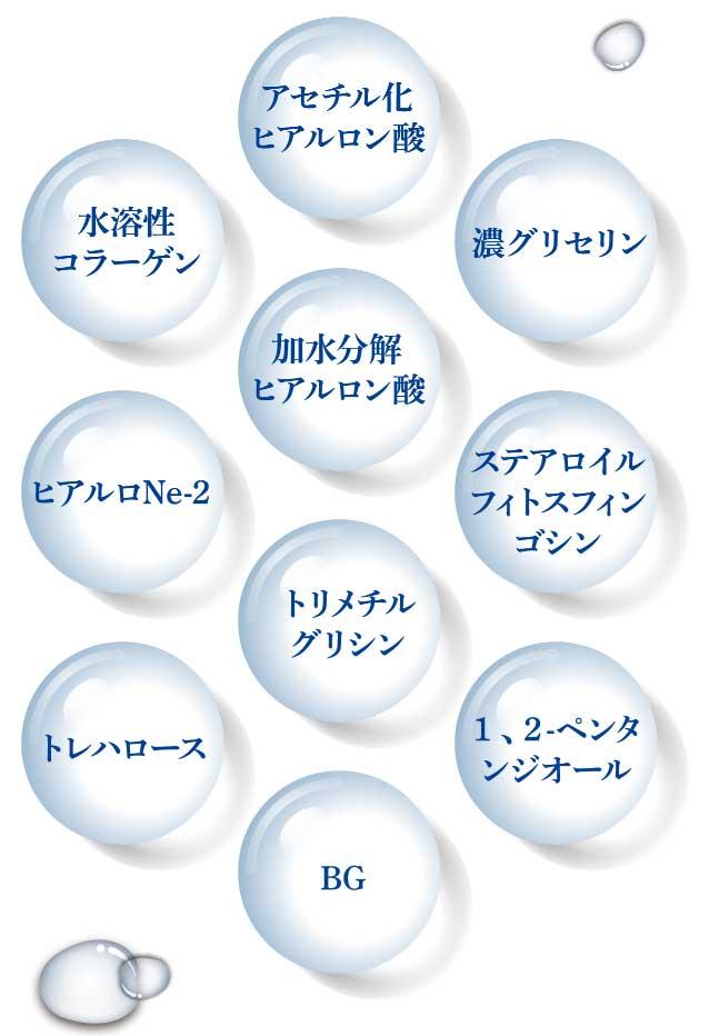 10種類の保湿成分